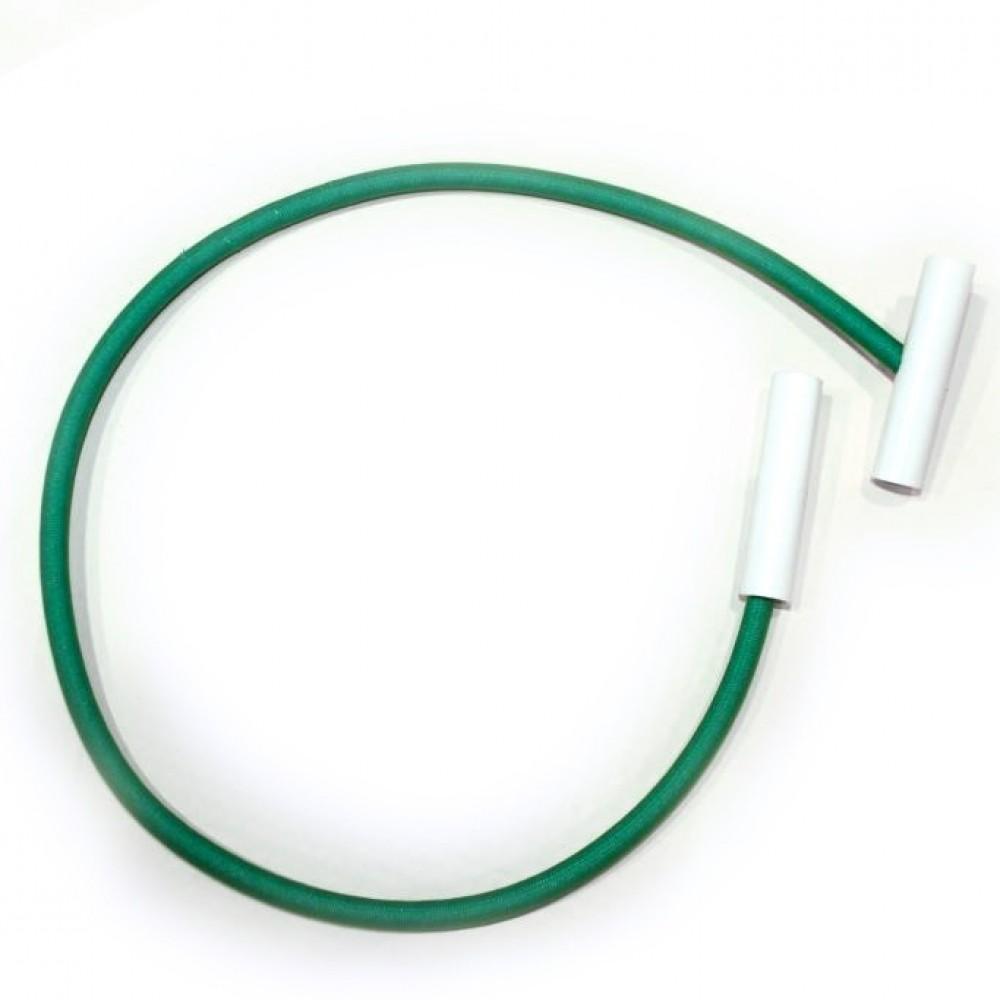 Tirante elastico con terminale per coperture invernali