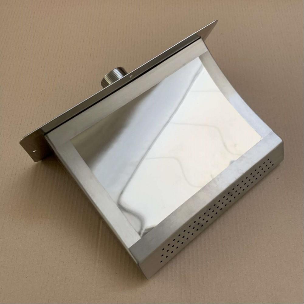 Aqa Cascata piatta da 300 mm acciaio Inox 316L Outlet