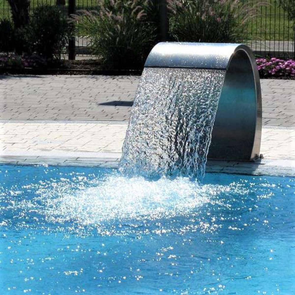 Aqa cascata pavimento da 500 mm acciaio Inox 316L Outlet