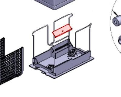Aletta per fondo/base sacco serie Ultra 125 250 Astralpool