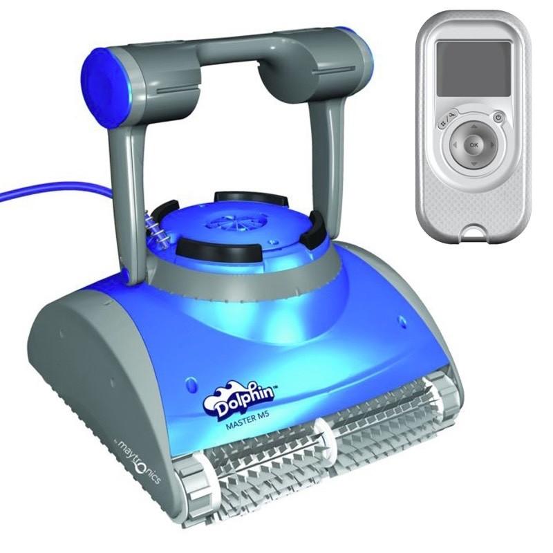 Dolphin Master M5 Robot pulitore per piscina spazzole in PVC
