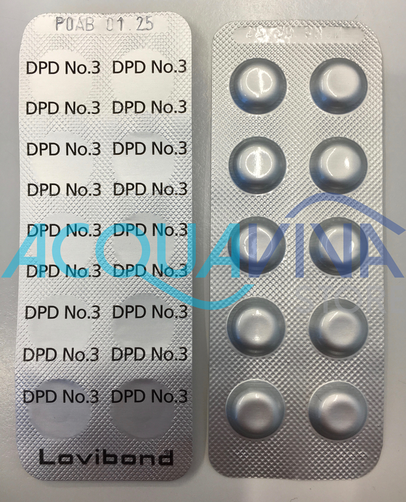 Pastiglie DPD n°3 (250 unità) per Fotometro