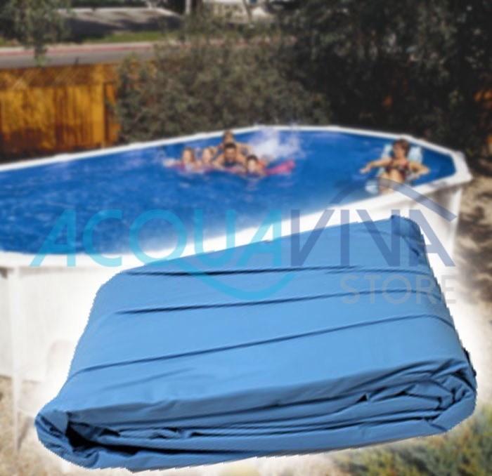 Liner pvc per piscina fuori terra gre 460 x 120h for Liner piscina gre