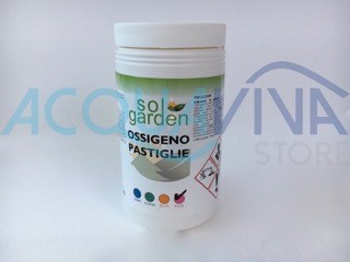 Ossigeno Pastiglie 100g Confezione da 1Kg
