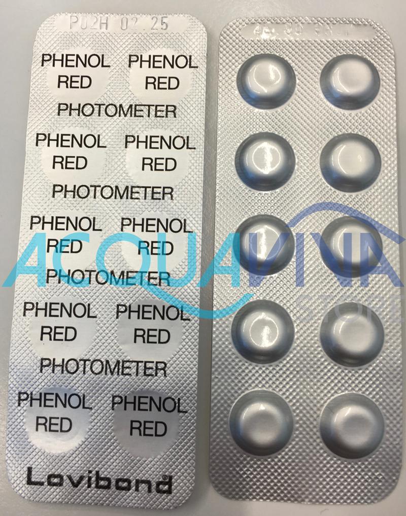 Pastiglie Phenol (250 unità) per Fotometro
