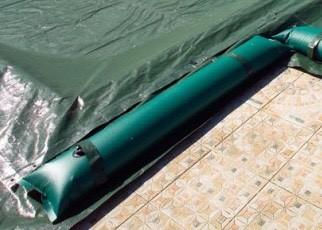 Salsicciotto/Salamotto/tubolare per Copertura Piscina in Pvc Standard da 1.25m