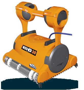 Dolphin Wave 30 Robot pulitore per piscina spazzole in PVC