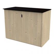 Armadio in legno Armoire basse Vertigo Rettangolare Dimensioni esterne 120x57 cm - 0,68 m2 Spessore pannelli 15 mm