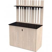 Armadio in legno Armoire haute Vertigo Rettangolare Dimensioni esterne 120x57 cm - 0,68 m2 Spessore pannelli 15 mm