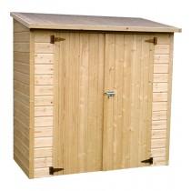 Armadio in legno Albecove Rettangolare Dimensioni esterne 170x82,4 cm - 1,4 m2 Spessore pannelli 12 mm