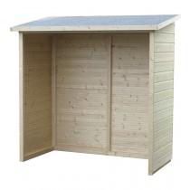 Armadio in legno Aveal Rettangolare Dimensioni esterne 170x81 cm - 1,38 m2 Spessore pannelli 12 mm