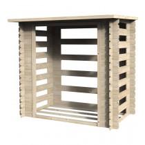 Armadio in legno B?cher Rettangolare Dimensioni esterne 190x118 cm - 2,24 m2 Spessore pannelli 19 mm