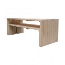 Tavolo picnic Linea D?o Rettangolare Dimensioni esterne 84x233 cm - h 75 cm