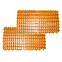 Kit spazzole in PVC Arancione