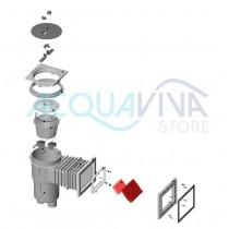 Battente Skimmer con clip (Skimmer 17,5L) Astralpool