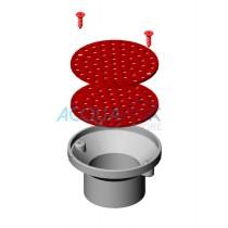 Coperchio bocchetta da fondo regolabile Astralpool