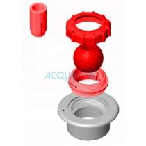 Sfera Multiflow + Ghiera + Riduzione per bocchetta impulsione Astralpool