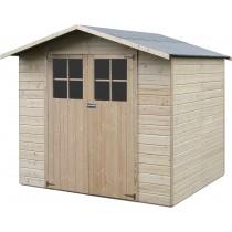 Lode Casetta in legno Rettangolare Dimensioni esterne 152,4x160 cm - 2,44 m2