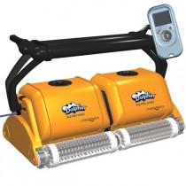 Dolphin 2X2 Pro Gyro Robot pulitore per piscina spazzole in PVC