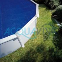Copertura isotermica per piscine fuori terra 500 x 350 Gre