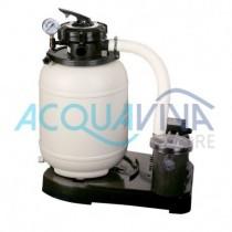 Monoblocco Filtro a Sabbia 3 m3/h Gre