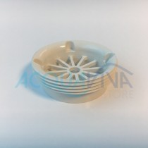 Griglia bocchette in ABS Ø58mm Bianco Pool's