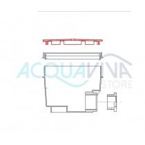 Griglia in ABS colore bianco per scarichi di fondo Pool's