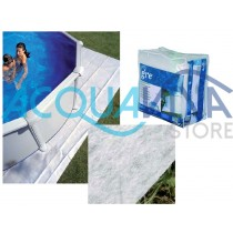 Tappeto proteggi fondo per piscine Gre Ø 640 cm