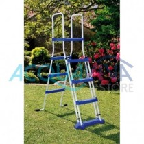Scaletta di sicurezza 134cm - 2 x 3 Gradini + Piattaforma Gre