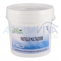 Pastiglie cloro multiazione 200g/5Kg SolGarden
