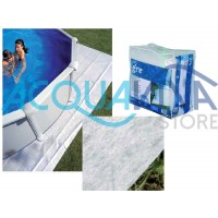Tappeto proteggi fondo per piscine Gre Ø 350 - 400 cm