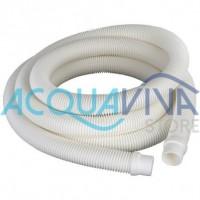Tubo per filtro 4m con terminali da 32 mm Gre