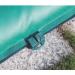 Clip di tenuta tubolare, salsicciotto o salamotto per il fissaggio con la copertura invernale