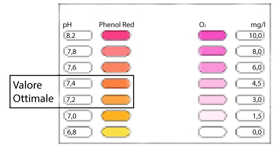 tabella valori ottimali